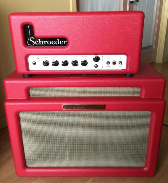 Schroeder Audio DB7 Amplifier Head w Sidecar 2x12