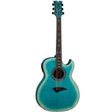 Dean Exhibition FM A/E w/Aphex Faded Denim 6-String Acoustic-Electric Guitar image