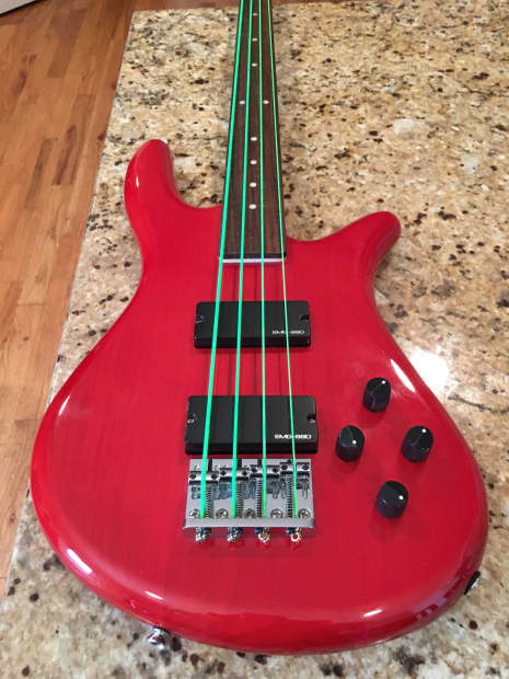 spector performer 4 bass with emg ssd pickups reverb