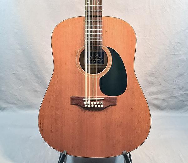 seagull 1993 s12 cedar top 12 string acoustic guitar vintage reverb. Black Bedroom Furniture Sets. Home Design Ideas