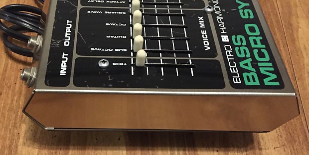 electro harmonix bass micro synthesizer ehx micro synth reverb. Black Bedroom Furniture Sets. Home Design Ideas