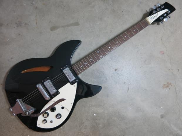 vintage 1960s fandel beatles electric guitar 325 365 teisco reverb. Black Bedroom Furniture Sets. Home Design Ideas