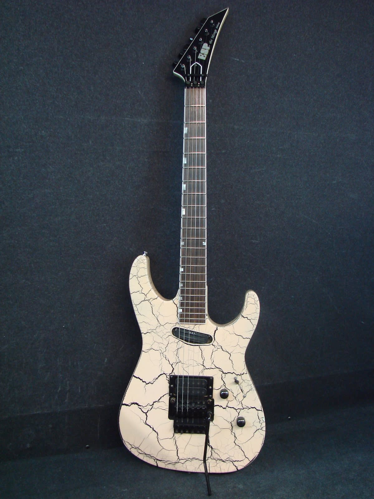 esp the mirage deluxe made in japan 1992 white crackle reverb. Black Bedroom Furniture Sets. Home Design Ideas