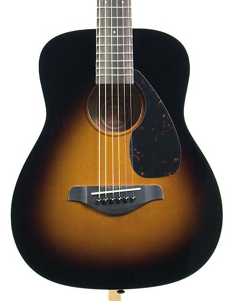 yamaha 3 4 scale folk acoustic guitar tobacco sunburst. Black Bedroom Furniture Sets. Home Design Ideas