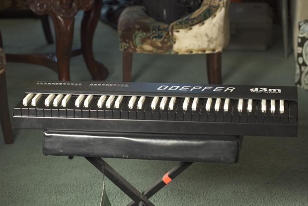 doepfer d3m organ midi controller reverb. Black Bedroom Furniture Sets. Home Design Ideas