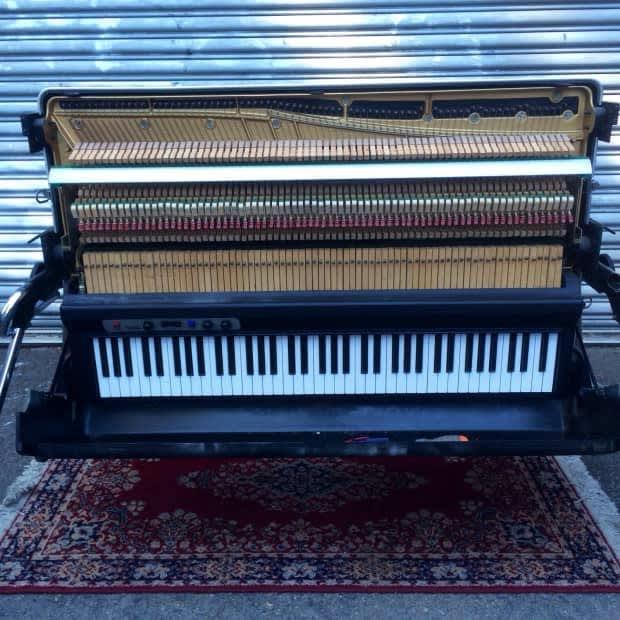 Vintage Kawai Ep 608 1980 Black Electric Piano Original