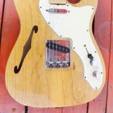 Fender  Telecaster Thinline I 1968 Natural Ash image