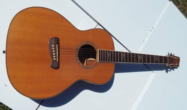 Tacoma PK-30 Parlor Guitar (1st year) | Reverb
