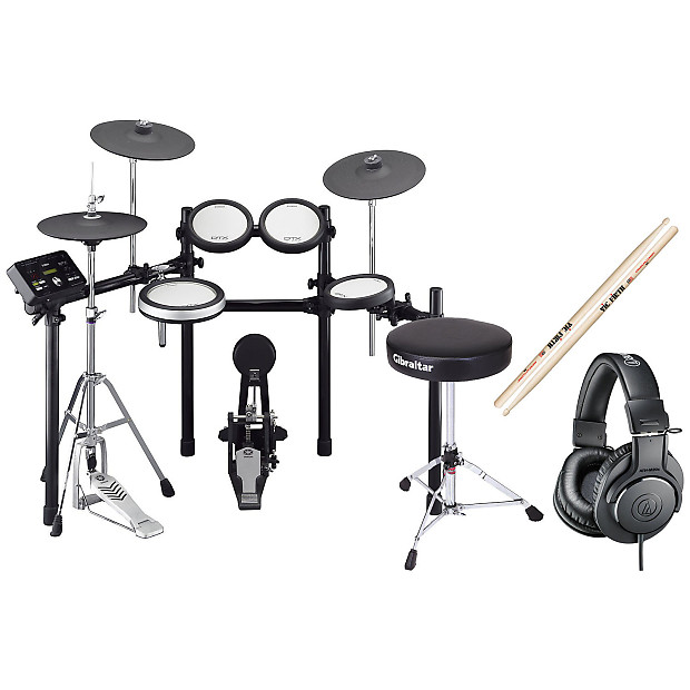 Yamaha dtx562k electronic drum set bundle reverb for Yamaha electronic drum sets