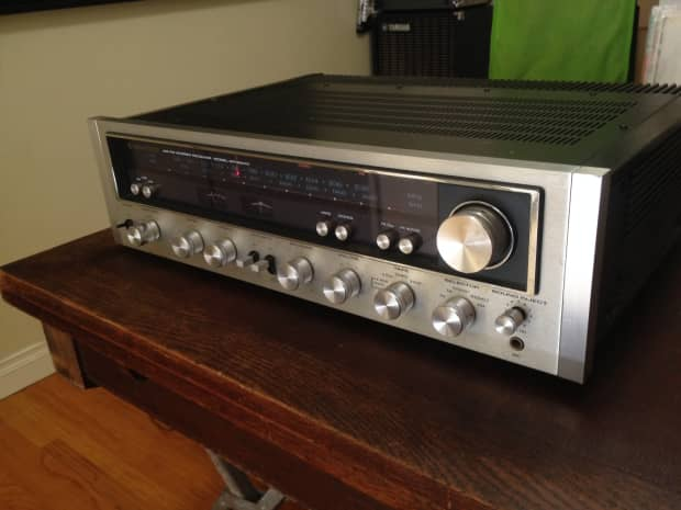 Kenwood Kr 6600 Fm Am Stereo Receiver Amp Phono Aux Reverb