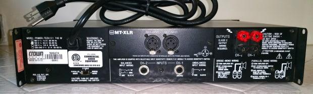 crown power tech 2 1 amplifier excellent condition reverb. Black Bedroom Furniture Sets. Home Design Ideas