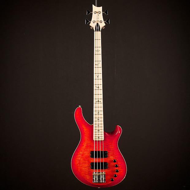 paul reed smith grainger 4 string bass 10 top blood orange reverb. Black Bedroom Furniture Sets. Home Design Ideas