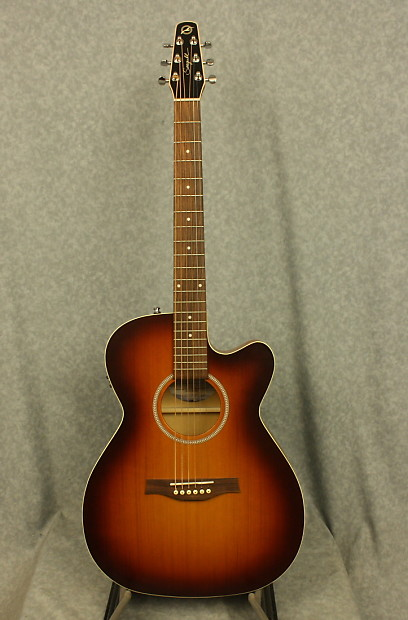 Seagull Entourage Rustic Cw Concert Hall Qit Reverb