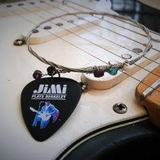 Recycled Guitar String Bracelet - Jimi Hendrix image