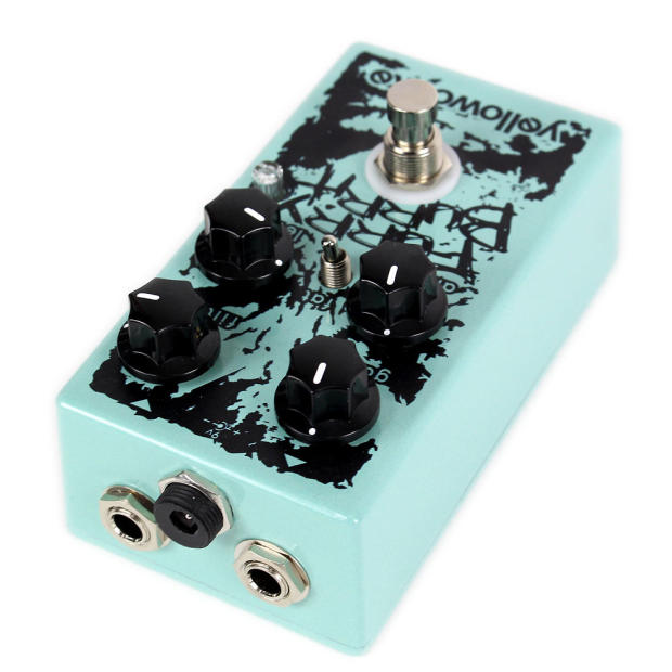 brand new yellowcake effects furry burrito overdrive distortion fuzz guitar pedal reverb. Black Bedroom Furniture Sets. Home Design Ideas