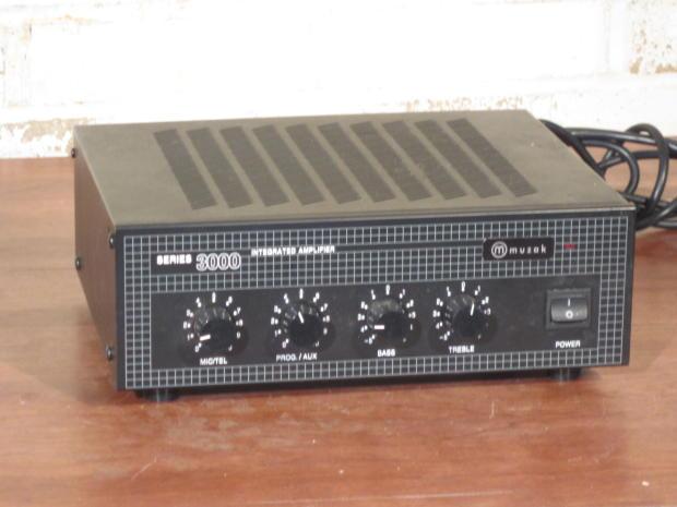 muzak paso 3000 integrated series program audio mixer ... 2005 chevy 2500 roof light wiring diagram #7