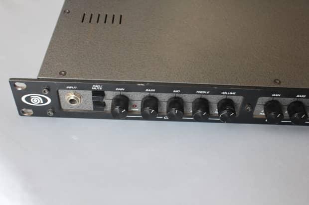 ampeg svp bsp bass guitar preamp svp amplifier pre amp reverb. Black Bedroom Furniture Sets. Home Design Ideas
