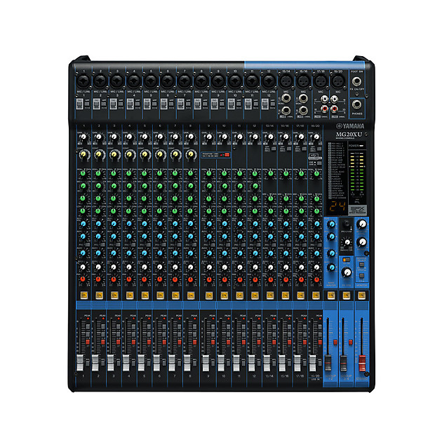 Yamaha mg20xu 20 channel mixing console reverb for Yamaha live console