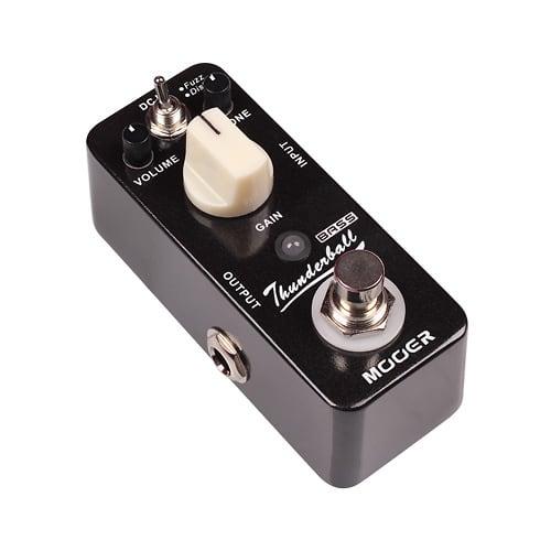 mooer audio thunderball fuzz distortion bass guitar effect reverb. Black Bedroom Furniture Sets. Home Design Ideas