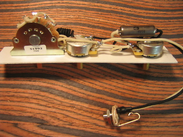 k d paulus guitar parts wiring harness for telecaster