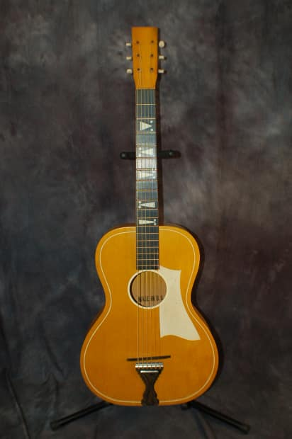 harmony truetone stella made in usa 3 4 parlor guitar new reverb. Black Bedroom Furniture Sets. Home Design Ideas