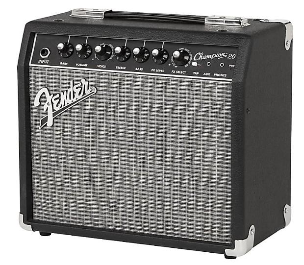 fender champion 20 20 watt electric guitar amplifier reverb. Black Bedroom Furniture Sets. Home Design Ideas