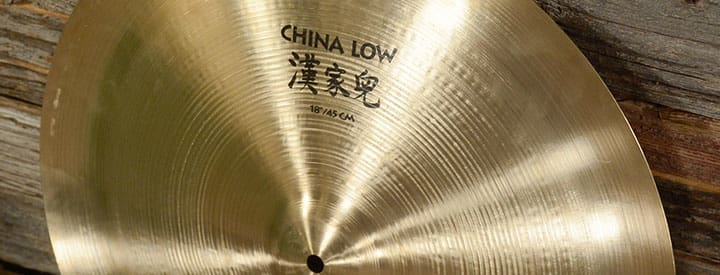 The Evolution of the China Cymbal