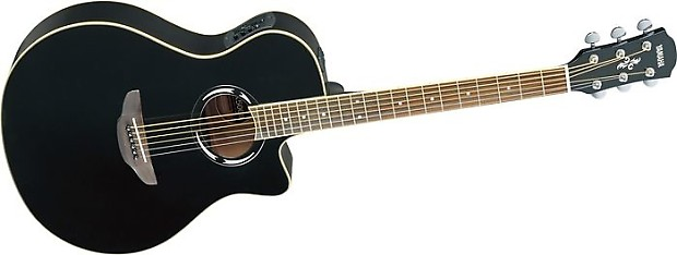 Yamaha Apx500ii Acoustic Electric Guitar Black Reverb