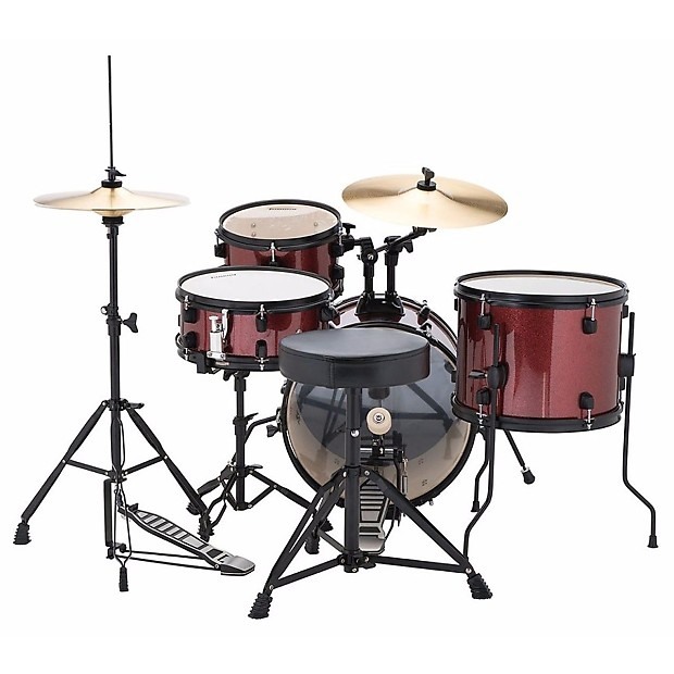new ludwig lc178x025 by questlove pocket kit 4 piece drum set reverb. Black Bedroom Furniture Sets. Home Design Ideas