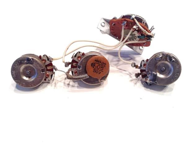 vintage nos fender potentiometers
