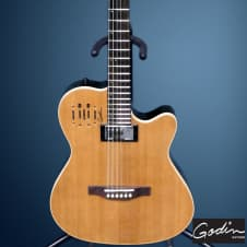 Godin A6 Ultra Acoustic Electric Guitar Free Guitar Stand image