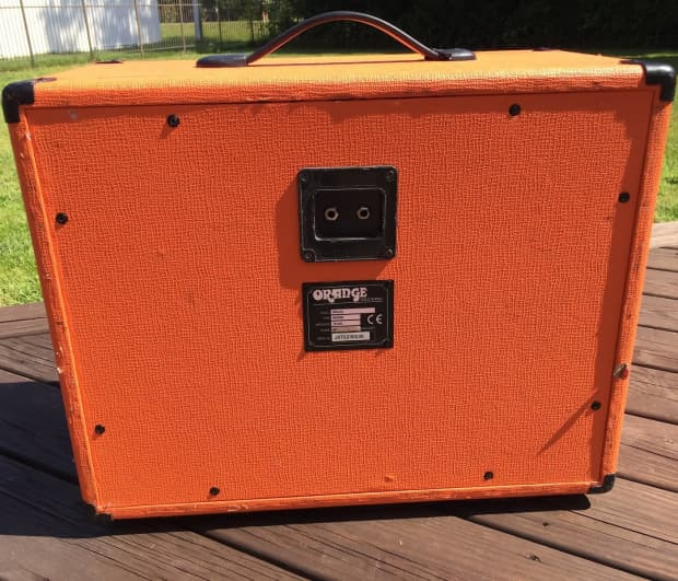 orange ppc112 1x12 60 watt guitar speaker cabinet orange reverb. Black Bedroom Furniture Sets. Home Design Ideas