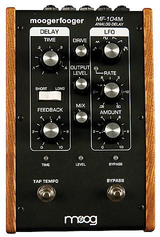 moog mf 104m analog delay guitar effects pedal reverb. Black Bedroom Furniture Sets. Home Design Ideas