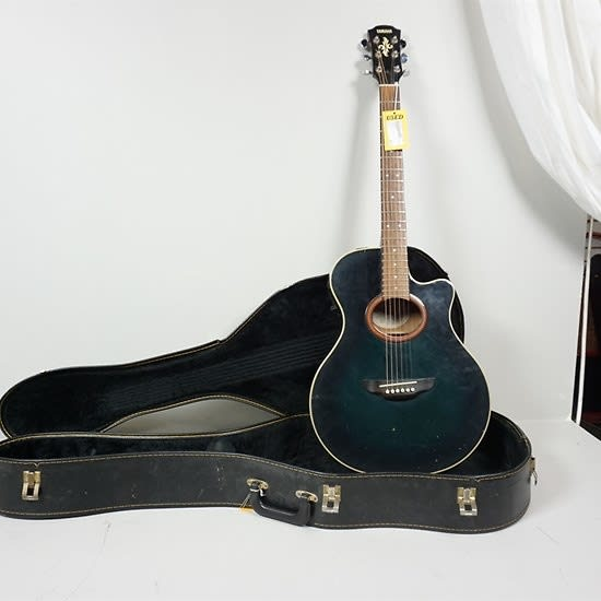 Used yamaha apx 4a acoustic guitar blue reverb for Apx guitar yamaha