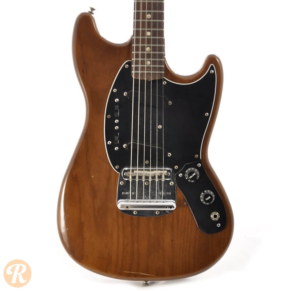 Auto Body Shops >> Fender Mustang 1978 Walnut Price Guide | Reverb