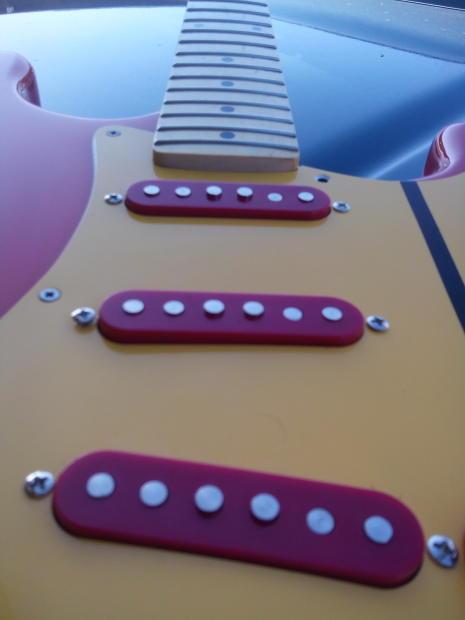 Tnt Auto Sales >> Custom USA Strat Guitar Stratocaster 2016 Fiesta Red   Reverb