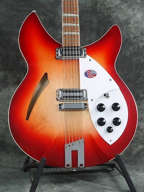 new rickenbacker 360 12c63 fireglo 12 string guitar vintage reverb. Black Bedroom Furniture Sets. Home Design Ideas