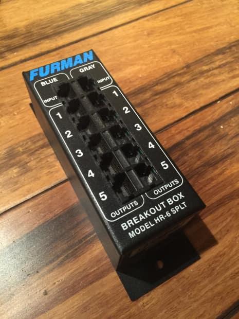 Furman HR-6 SPLT Never Used! | Reverb