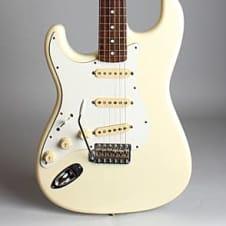 Fender  Stratocaster ST62L Solid Body Electric Guitar (1986), ser. #F033929, black gig bag case. image