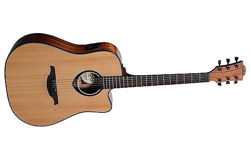 lag guitars tramontane t66dce dreadnought acoustic electric reverb. Black Bedroom Furniture Sets. Home Design Ideas