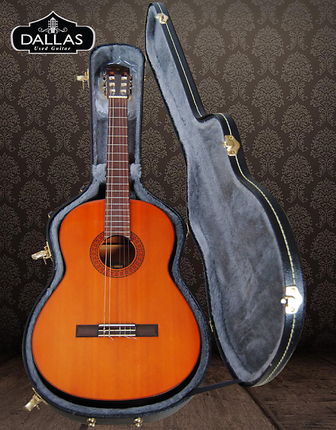 yamaha g65a classical nylon string guitar with hardcase reverb. Black Bedroom Furniture Sets. Home Design Ideas