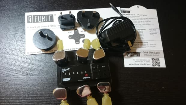 Mint Gibson 2015 G Force Tuner For Les Paul Guitars With