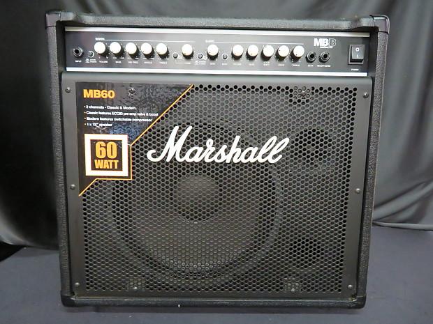 marshall mb 60 60 watt 1x12 bass combo amp reverb. Black Bedroom Furniture Sets. Home Design Ideas