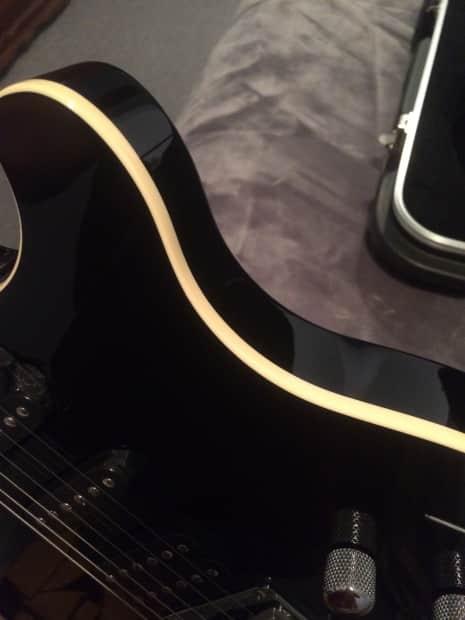 Ernie Ball Music Man GameChanger Reflex Black Beige Reverb
