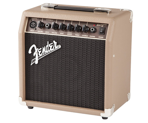 fender acoustasonic 15 15 watt acoustic guitar amplifier reverb. Black Bedroom Furniture Sets. Home Design Ideas