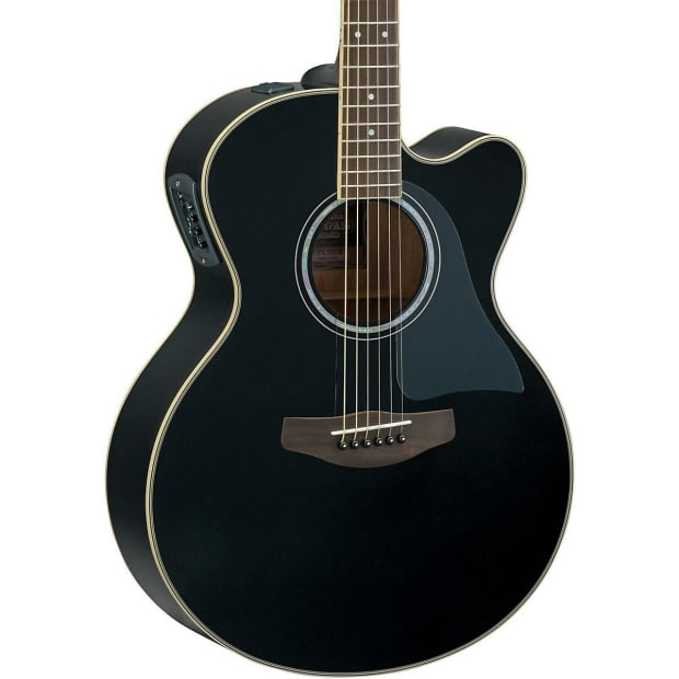 yamaha cpx500iiibl cutaway medium jumbo acoustic electric reverb. Black Bedroom Furniture Sets. Home Design Ideas