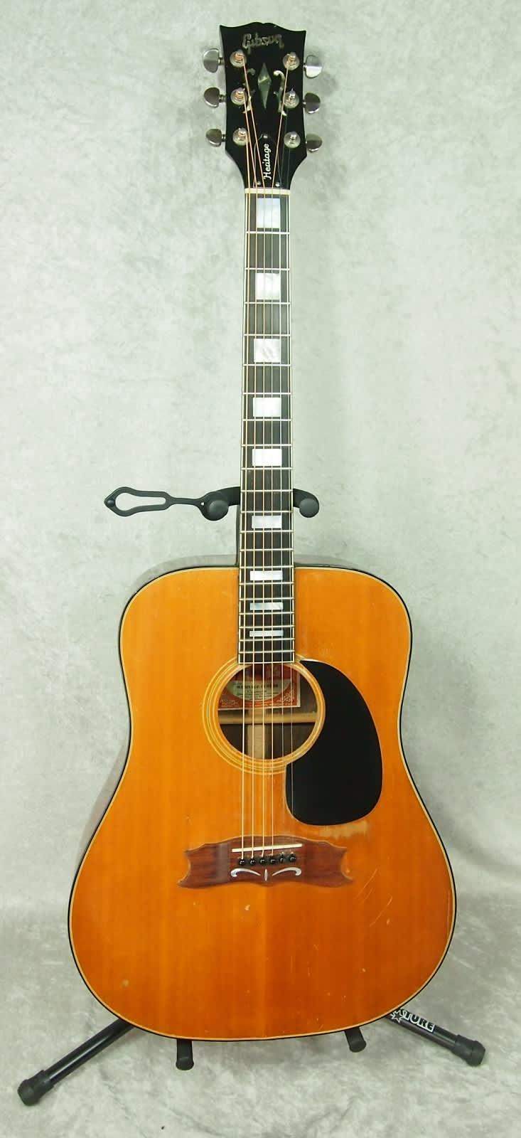 1974 gibson heritage custom acoustic guitar reverb. Black Bedroom Furniture Sets. Home Design Ideas
