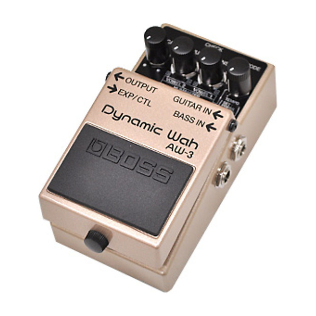 boss aw 3 dynamic wah guitar effect pedal reverb. Black Bedroom Furniture Sets. Home Design Ideas