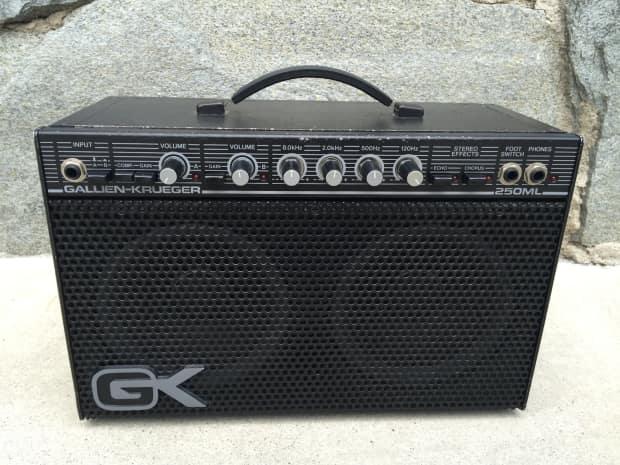 Gallien Krueger Guitar Amp : gk gallien krueger 250ml guitar amp new gk speakers reverb ~ Vivirlamusica.com Haus und Dekorationen