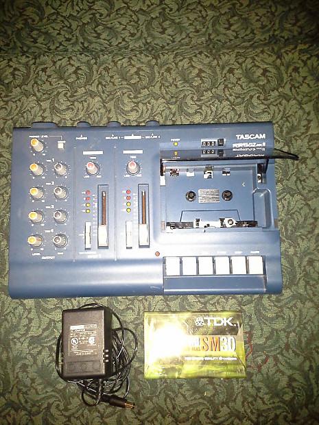 Used Tascam Porta 02 Mk II Tape